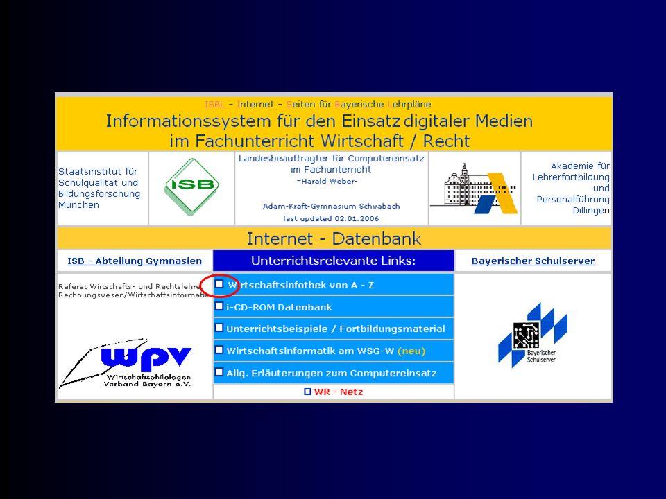 Informieren Sie mich bitte über weitere Internetseiten, auf denen aktuelle Daten angeboten werden.