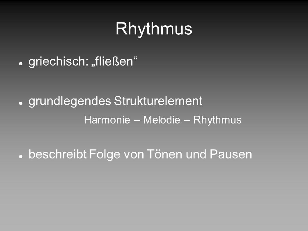 DESIGN PATTERNS IN DER MUSIK Rhythmus Musik Harmonie- lehre Rhythmus Zwölf- tonmusik Klang- flächen