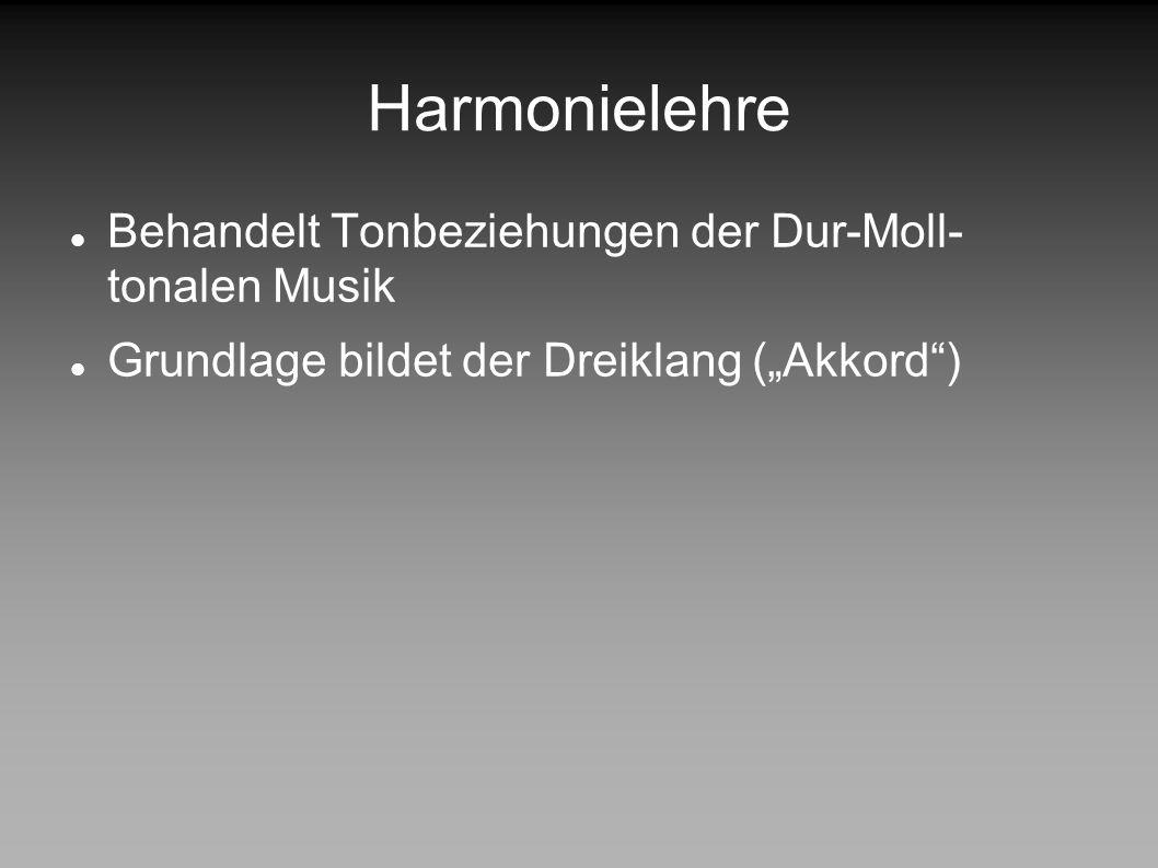 DESIGN PATTERNS IN DER MUSIK Harmonielehre Musik Harmonie- lehre Rhythmus Zwölf- tonmusik Klang- flächen