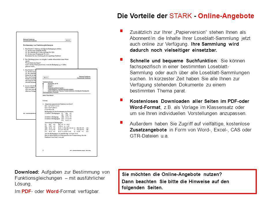 Download: Aufgaben zur Bestimmung von Funktionsgleichungen – mit ausführlicher Lösung.