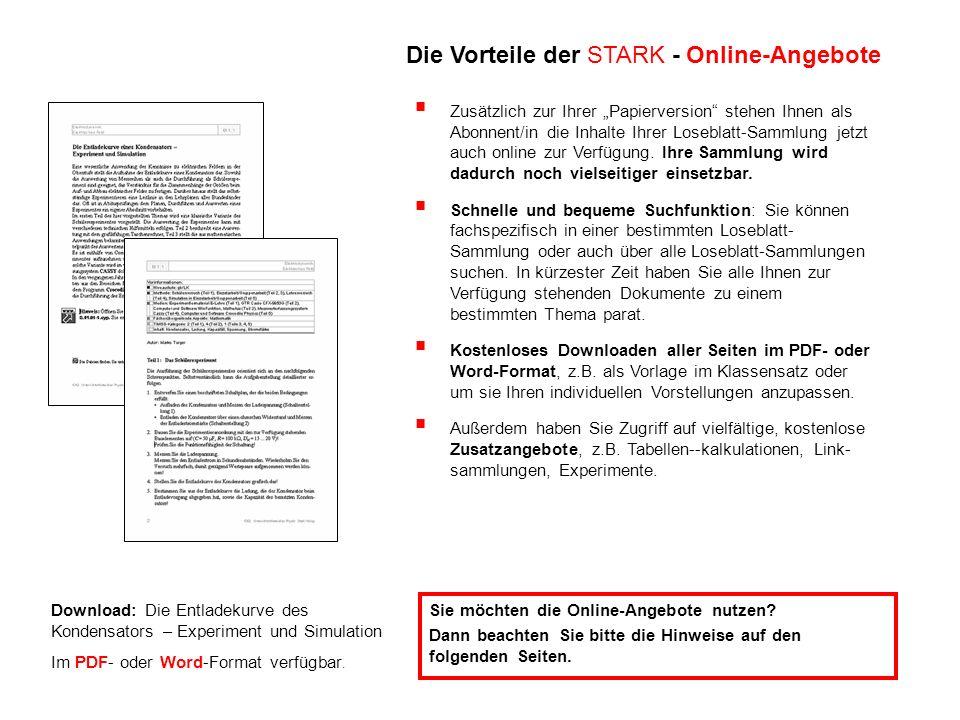 Download: Die Entladekurve des Kondensators – Experiment und Simulation Im PDF- oder Word-Format verfügbar.