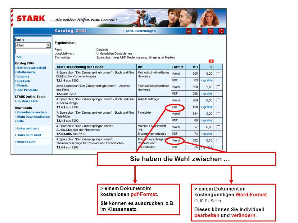 > einem Dokument im kostenlosen pdf-Format. Sie können es ausdrucken, z.B. im Klassensatz. > einem Dokument im kostengünstigen Word-Format. (0,10 / Se
