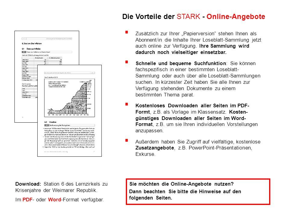 Download: Station 6 des Lernzirkels zu Krisenjahre der Weimarer Republik.