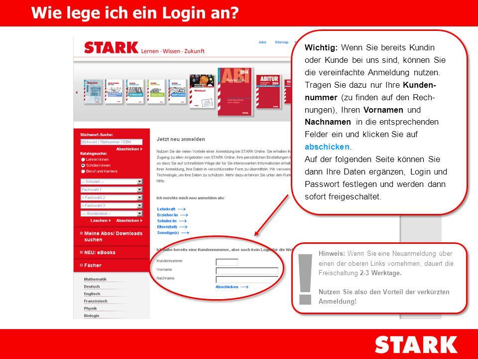 Der eigentliche Zugang zu den Online- Angeboten erfolgt über den Menüpunkt Meine Abos/ Downloads suchen Meine Abos/ Downloads suchen Um unberechtigten Zugriff zu verhindern, ist der Bereich durch einen Login geschützt.