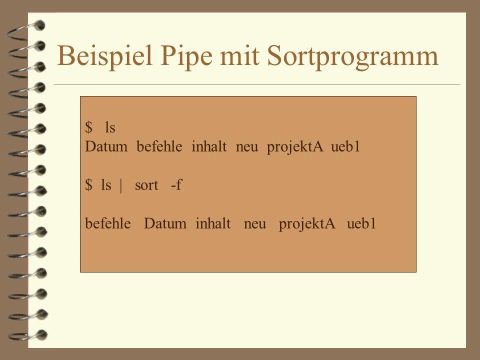 4 Ebenso können Sie die Dateien mit Hilfe des Sortierprogrammes zeilenweise alphabetisch sortieren-z.B.
