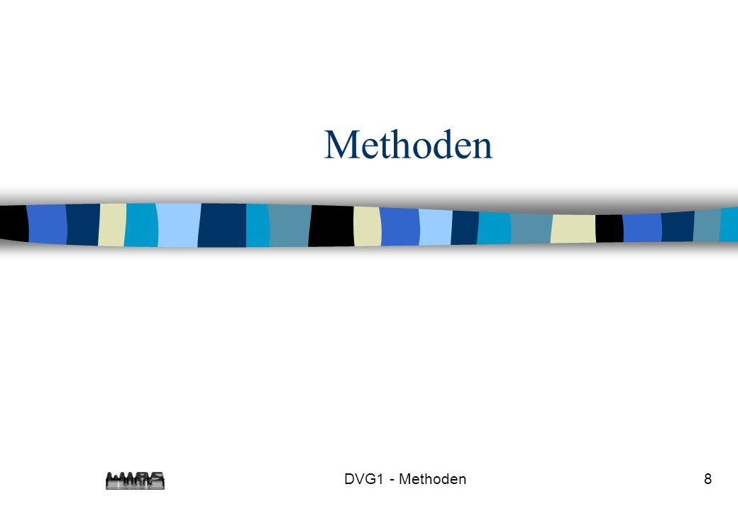 DVG1 - Methoden19 System.out.println(n + .
