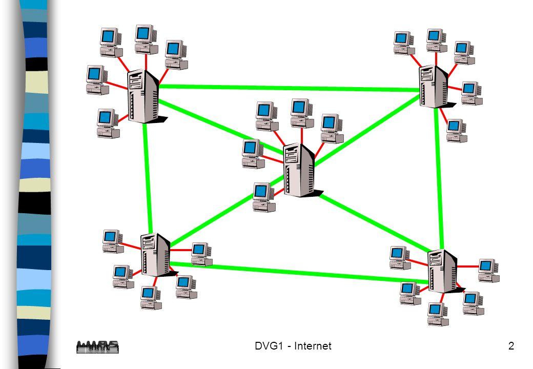 3 Datentransport im Internet n Datentransport über das TCP/IP - Protokoll –TCP = Transfer Control Protocol –IP = Internet Protocol n Jeder Rechner im Internet hat eine eindeutige IP-Adresse ddd.ddd.ddd.ddd wobei 0<ddd<255 gilt.