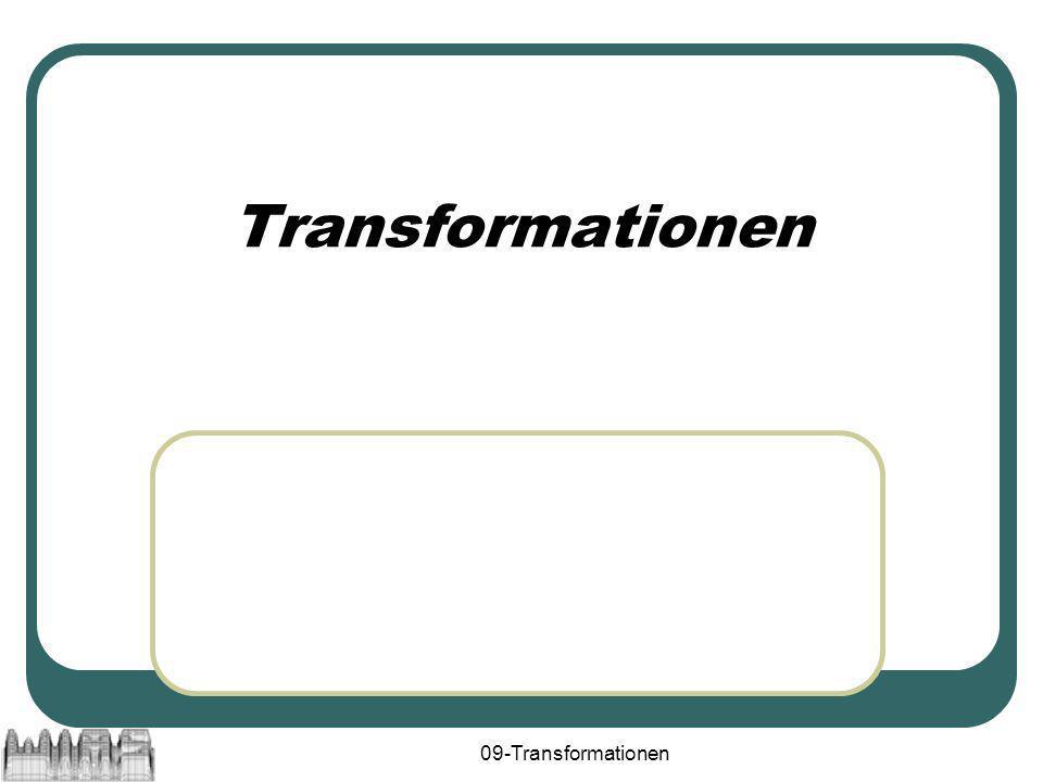 09-Transformationen Transformationen