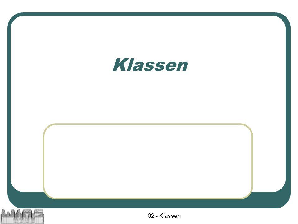 02 - Klassen Klassen