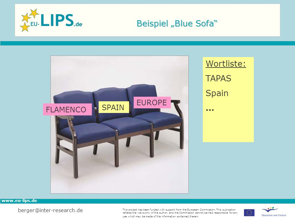 www.eu-lips.de This project has been funded with support from the European Commission.