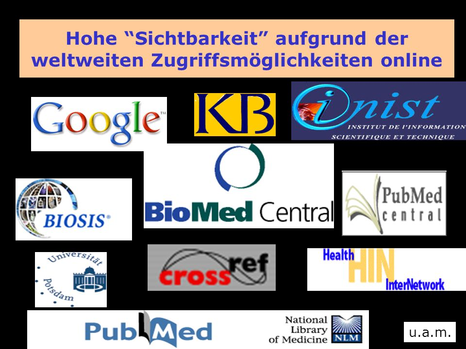 BioMed Central Zahlen und Tendenzen BioMed Central