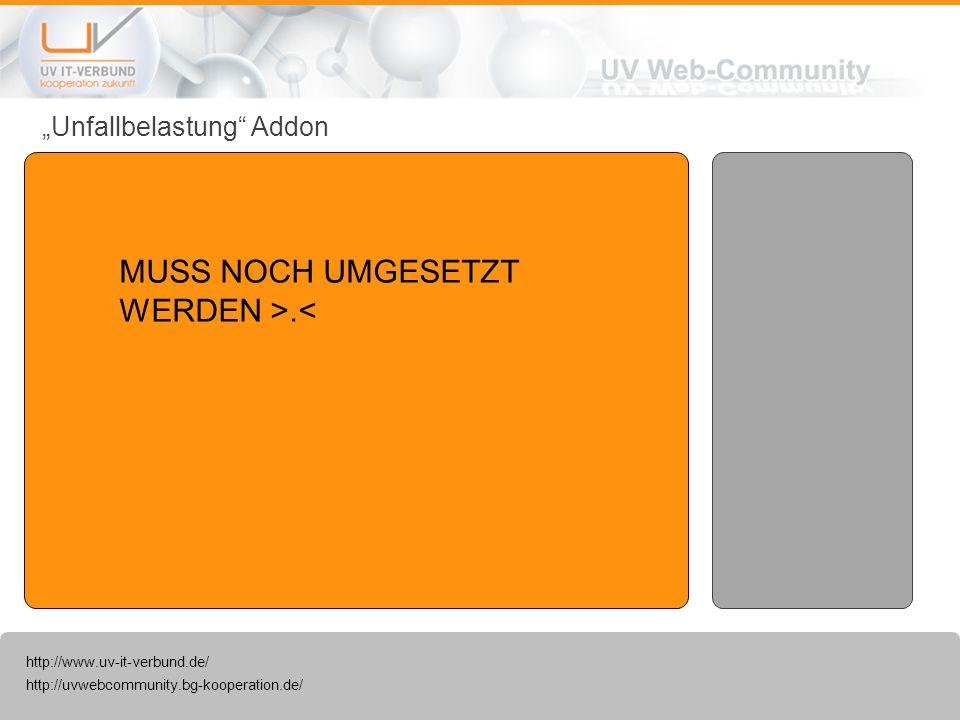 http://uvwebcommunity.bg-kooperation.de/ http://www.uv-it-verbund.de/ D-Arzt-Verzeichnis Addon Mit dem D-Arzt-Verzeichnis ist eine suche von D-Ärzte nach PLZ und Ort möglich.