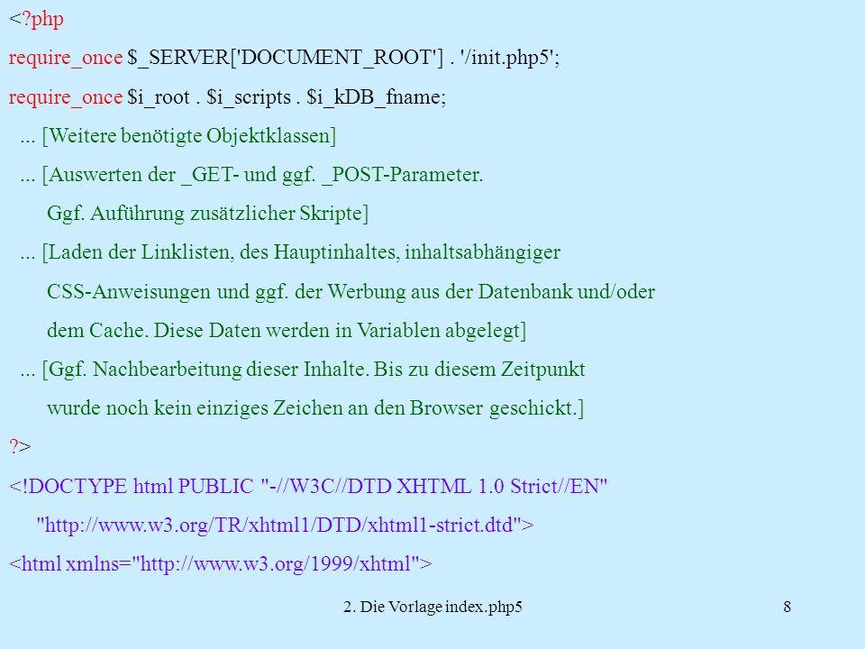 2.Die Vorlage index.php59...