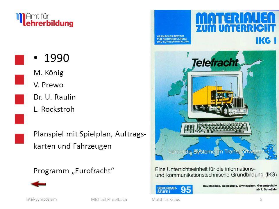 Michael Finselbach Intel-Symposium 1990 W.Kroker U.