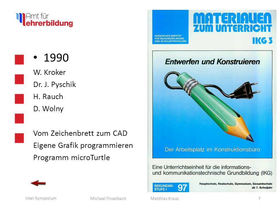 Michael Finselbach Intel-Symposium 1991 G.Käberich W.