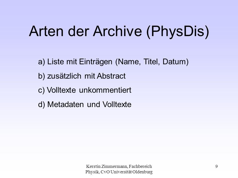 Thomas Severiens, Fachbereich Physik, CvO Universität Oldenburg 20 Requirements for Harvest-Servers Platforms: DEC OSF/1 2.0 or newer SunOS 4.1.x or newer SunSolaris 2.3 or newer HPUX AIX 3.x or newer Linux all Kernel from 1999 on......