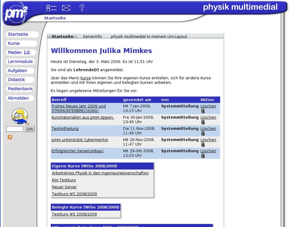 Einleitung pmm LiLi ENGINe Fazit Die Medienbank enthält Videos, Bilder, HTML- and PDF Seiten.