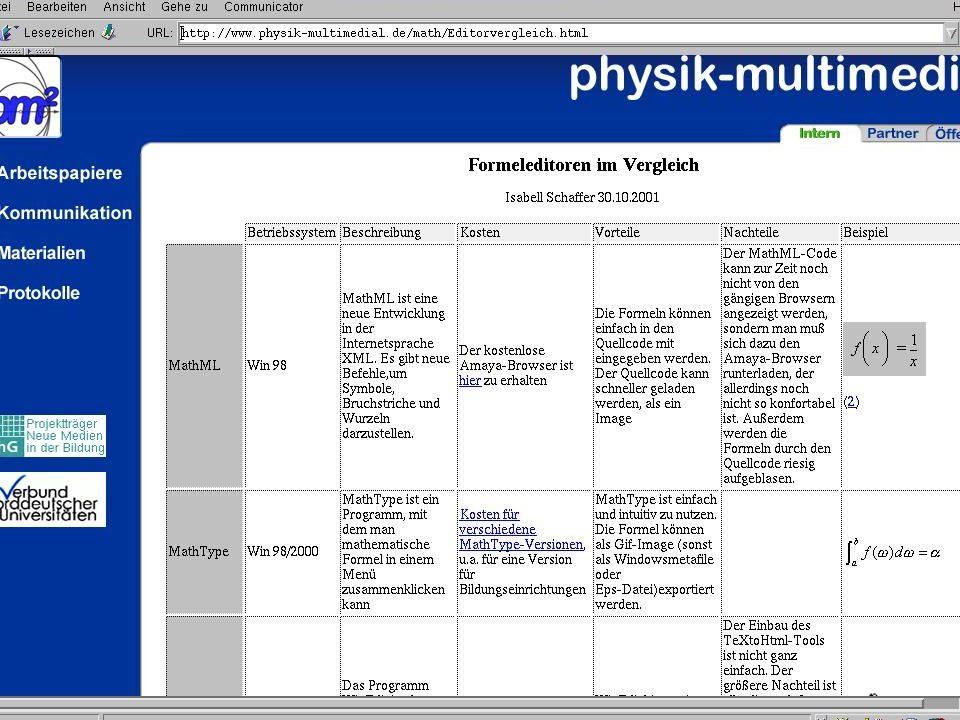 Julika Mimkes mimkes@uni-oldenburg.de NEMESIS, 14.-17.11. 2001 in Siegen