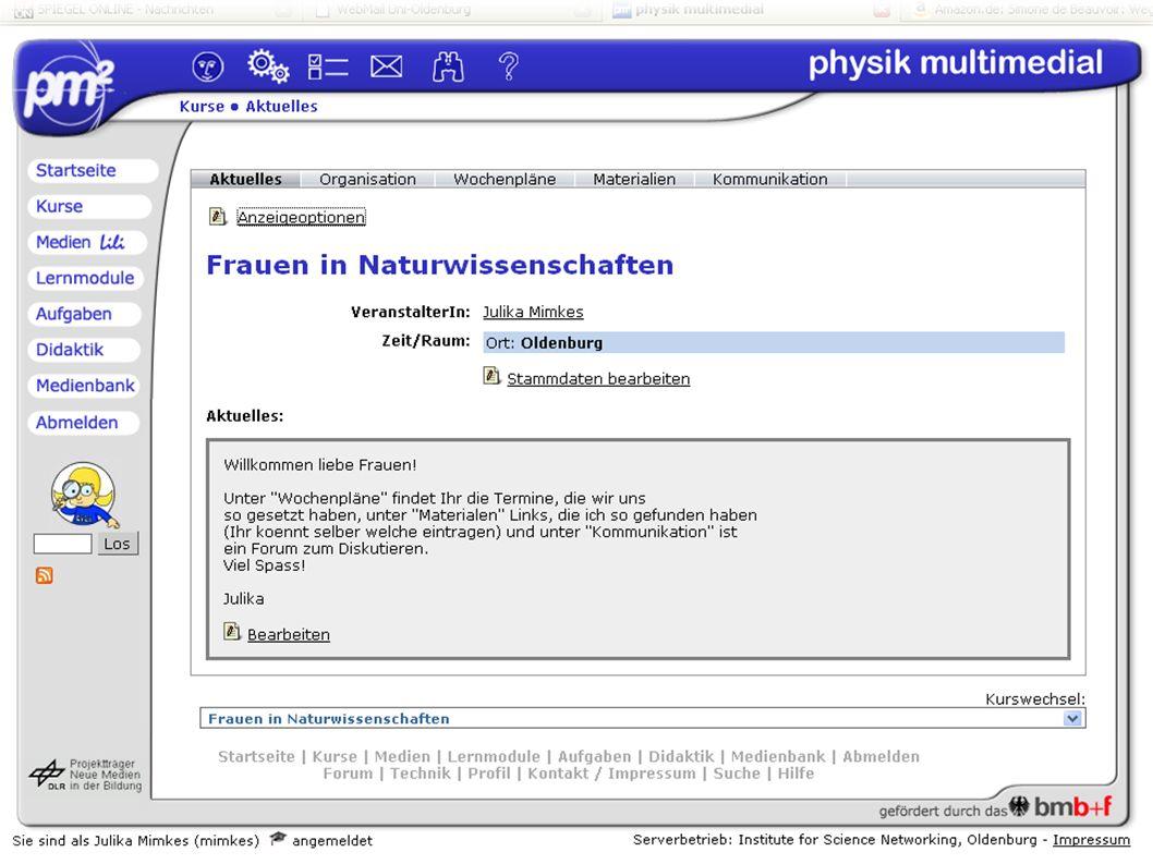 Einleitung Szenarien eLearning Archivierung Fazit DFG Rundgespräch 2008 in Bonn