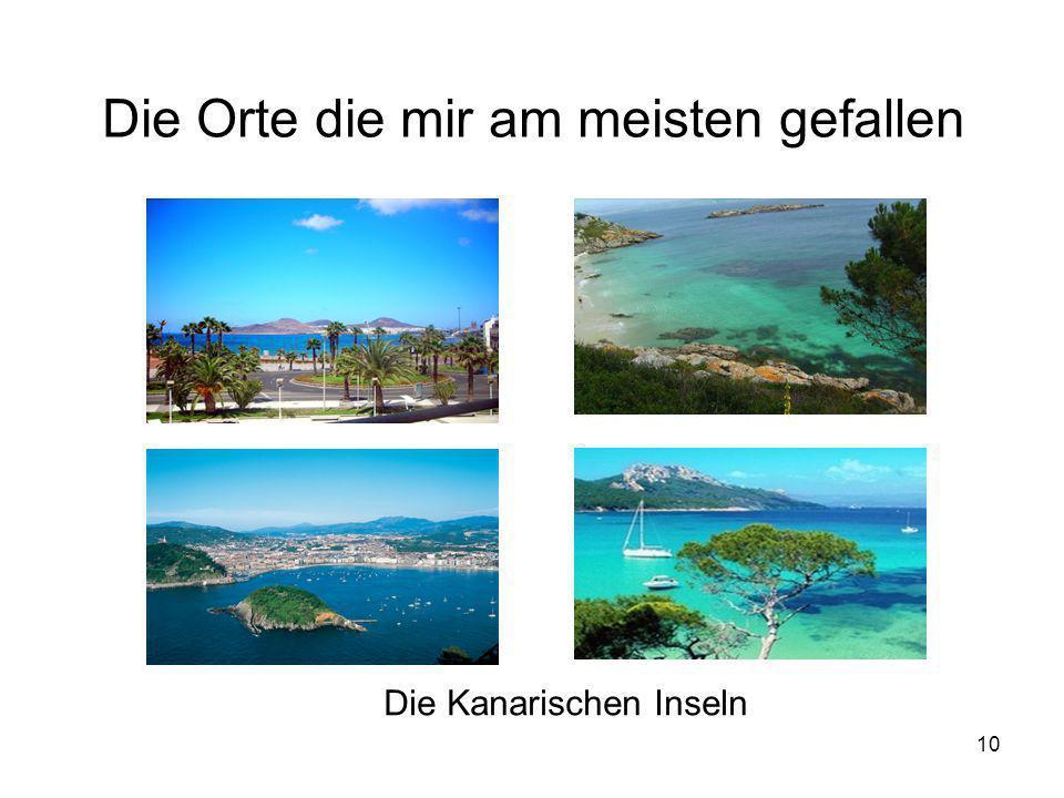 10 Die Orte die mir am meisten gefallen Die Kanarischen Inseln