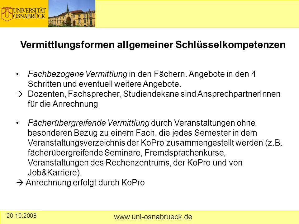 Fachbezogene Vermittlung in den Fächern.
