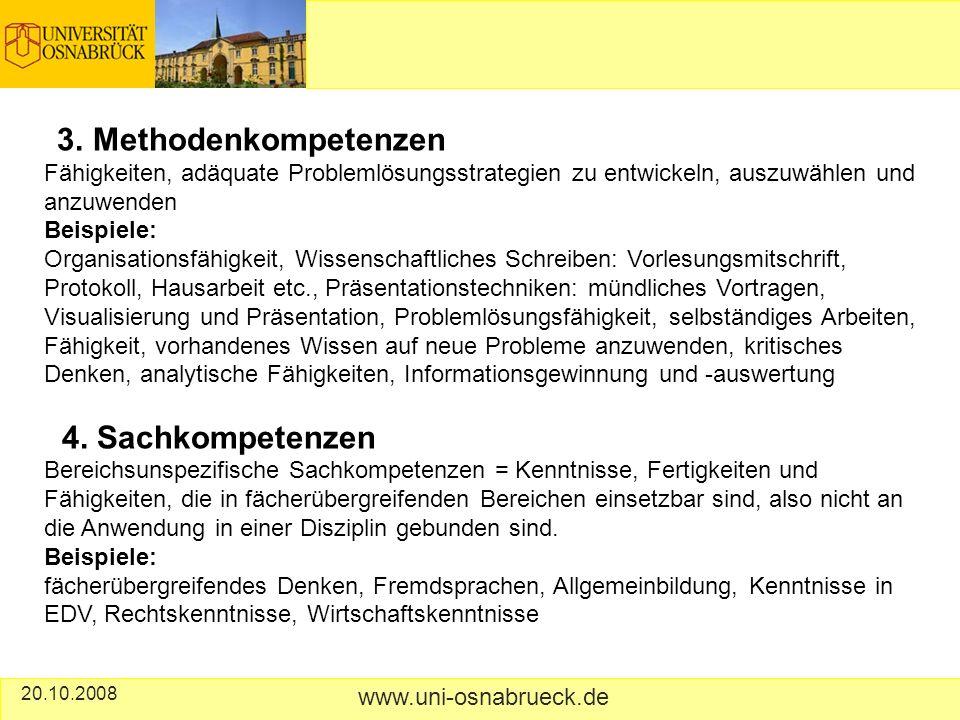 20.10.2008 www.uni-osnabrueck.de 3.