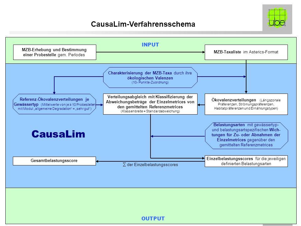 FE-Morsbach ube-Präsentation 12.02.2008 MZB-Taxaliste im Asterics-Format Ökovalenzverteilungen (Längszonale Präferenzen, Strömungspräferenzen, Habitat