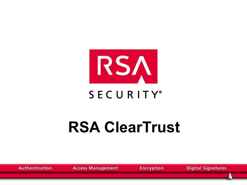 RSA ClearTrust