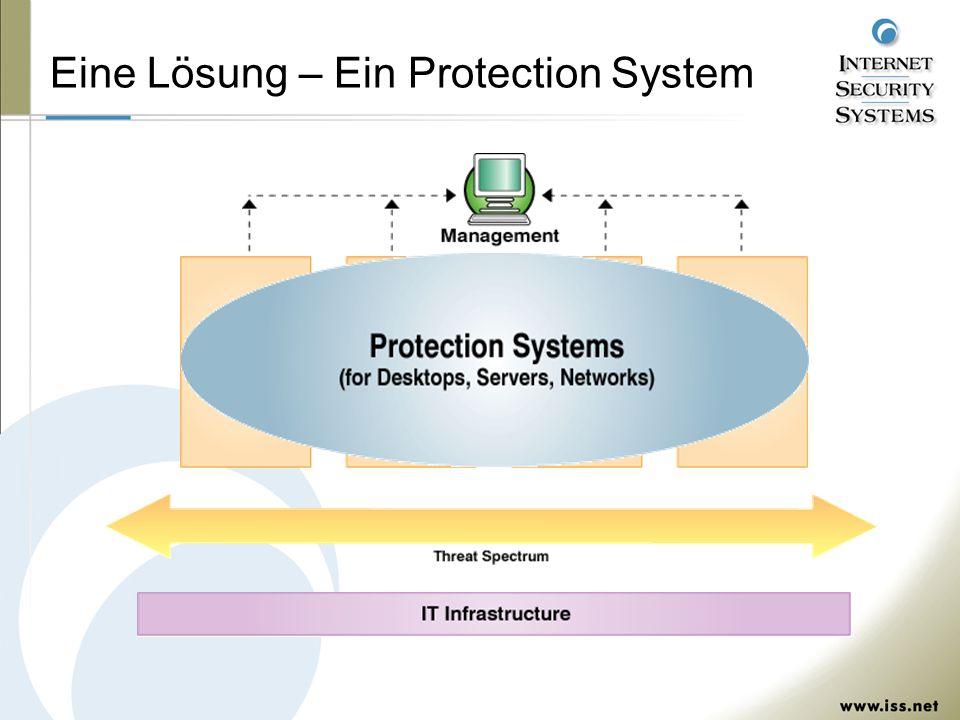 Eine Lösung – Ein Protection System