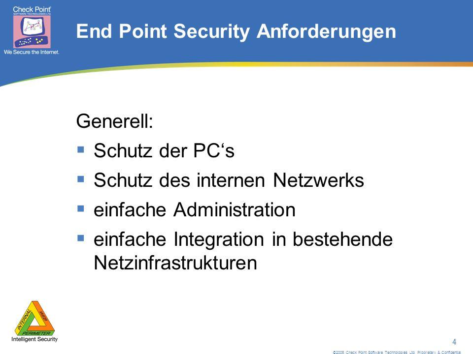 ©2005 Check Point Software Technologies Ltd.