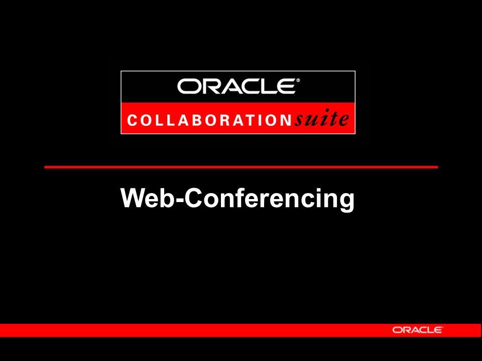 Nutzen von Oracle UltraSearch Einbeziehung aller relevanter Datenquellen innerhalb und außerhalb des Unternehmens - Beherrschen der Informationskomplexität - Optimale Nutzung vorhandener Informationen durch den Anwender Zentrale Indizierung und Suchabwicklung - Erhöhung der Performanz - Reduzierung der Hardware-, Wartungs- und Betriebsaufwände Nutzung der Basis-Technologie von Oracle 9 i und Text - Größte Skalierbarkeit, Verfügbarkeit, Sicherheit - neuester technologischer Stand