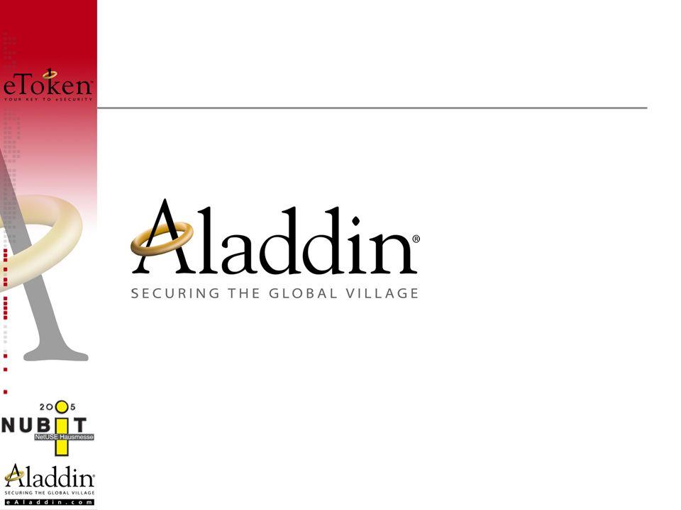 Gegründet:1985 (in IL als Aladdin Ltd.) (in DE als FAST Security AG) Merger: 1996 mit Aladdin Mitarbeiter:369 (DE 64) Umsatz (2004):69,1 Mio.