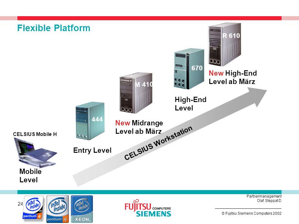 CELSIUS Workstation von Fujitsu Siemens Computers