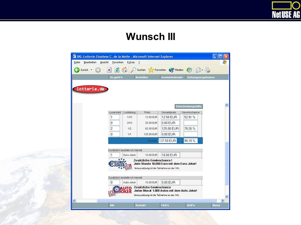 Wunsch III
