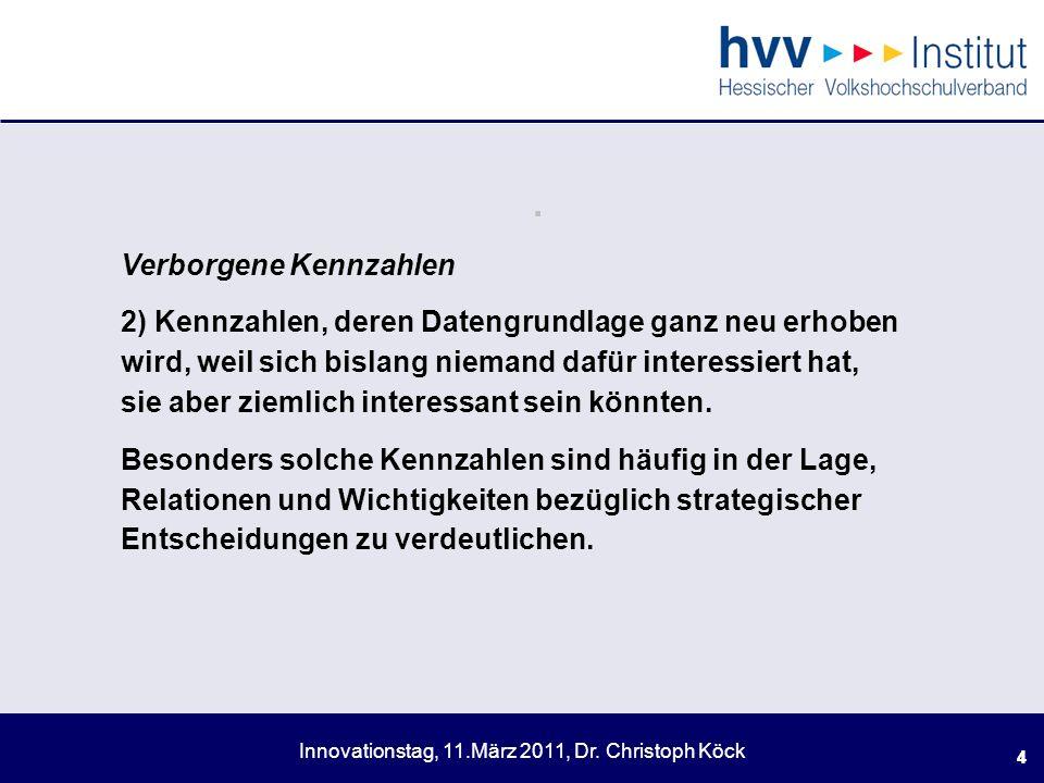 Innovationstag, 11.März 2011, Dr.Christoph Köck 55.