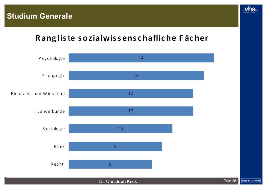 Studium Generale Folie 26 dunkelrotdunkelockerdunkelgraudunkelpetroldunkelliladunkelgründunkeloliv Verfügbare Farben: Dr.