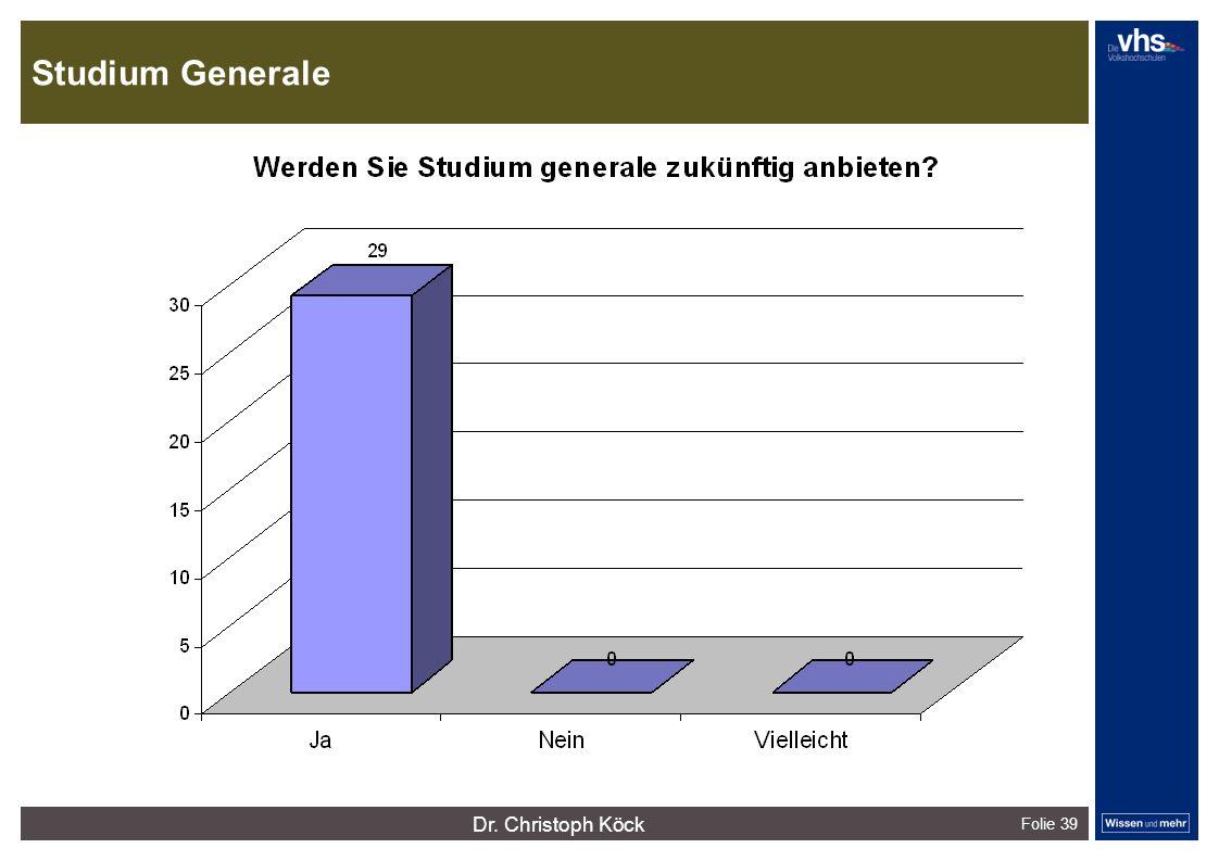 Studium Generale Folie 39 dunkelrotdunkelockerdunkelgraudunkelpetroldunkelliladunkelgründunkeloliv Verfügbare Farben: Dr.