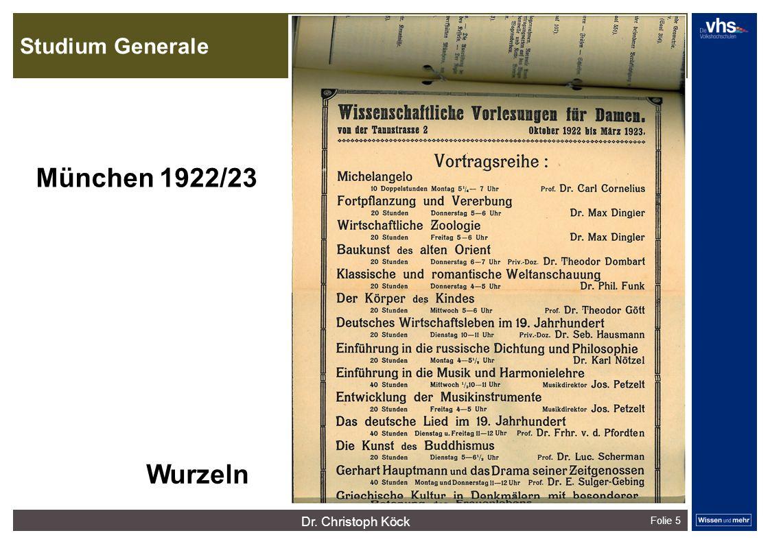 Studium Generale Folie 5 dunkelrotdunkelockerdunkelgraudunkelpetroldunkelliladunkelgründunkeloliv Verfügbare Farben: München 1922/23 Wurzeln Dr.