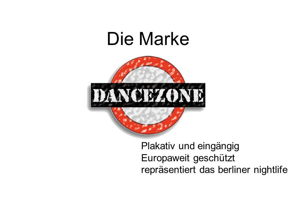 Die Marke Plakativ und eingängig Europaweit geschützt repräsentiert das berliner nightlife