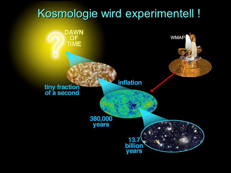 Kosmologie wird experimentell ! WMAP