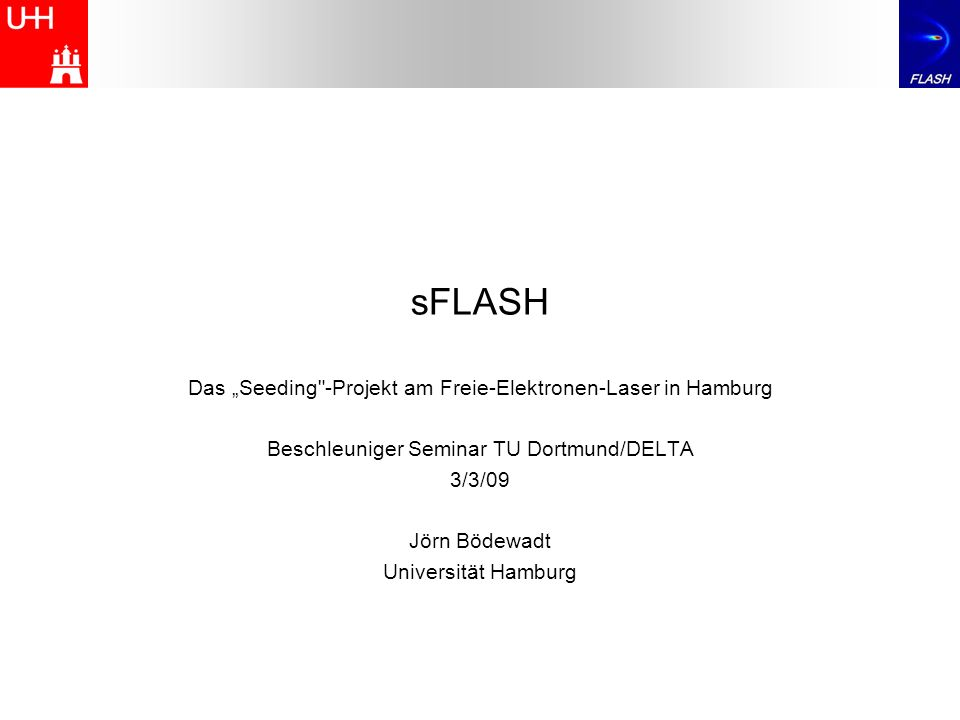 sFLASH Das Seeding