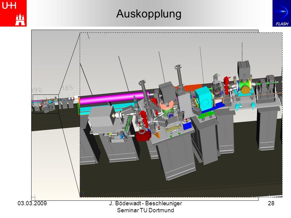 03.03.2009J. Bödewadt - Beschleuniger Seminar TU Dortmund 28 Auskopplung