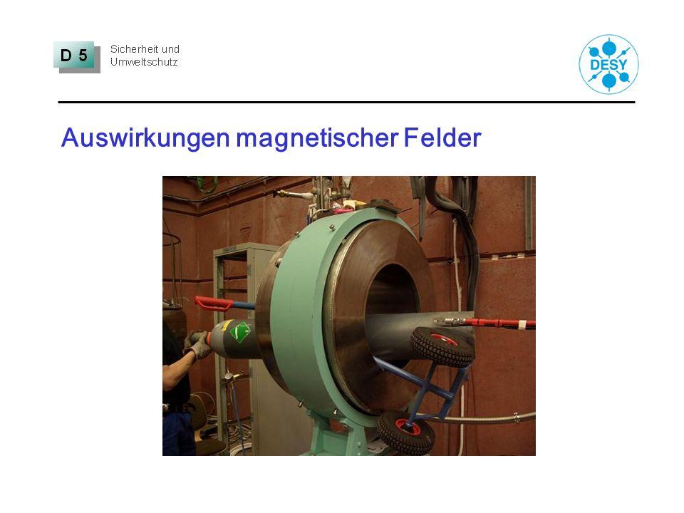 Auswirkungen magnetischer Felder