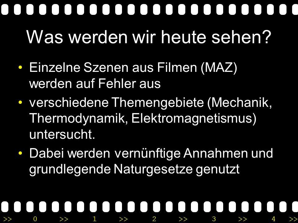 >>0 >>1 >> 2 >> 3 >> 4 >> Wir sollten sicherlich nicht zu sehr übertreiben…. Dennoch kann es sehr unterhaltsam und Lehrreich sein bestimmte Filme / Sz