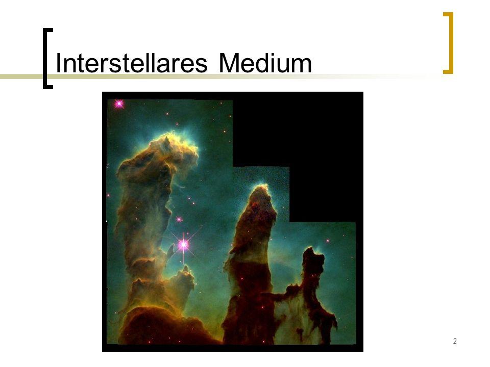 2 Interstellares Medium