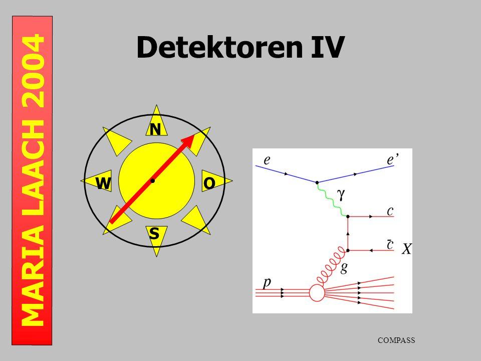 MARIA LAACH 2004 Detektoren IV S N WO COMPASS