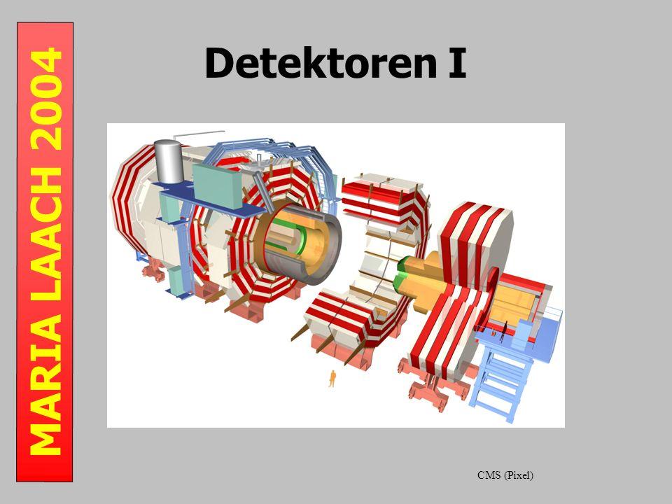 MARIA LAACH 2004 Detektoren I CMS (Pixel)
