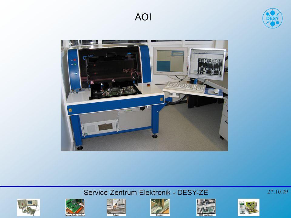 AOI Service Zentrum Elektronik - DESY-ZE 27.10.09