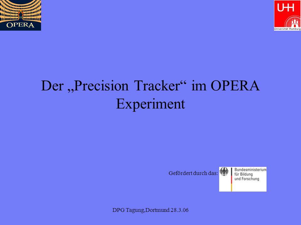 DPG Tagung,Dortmund 28.3.06 Übersicht Was soll der PT messen und wie.