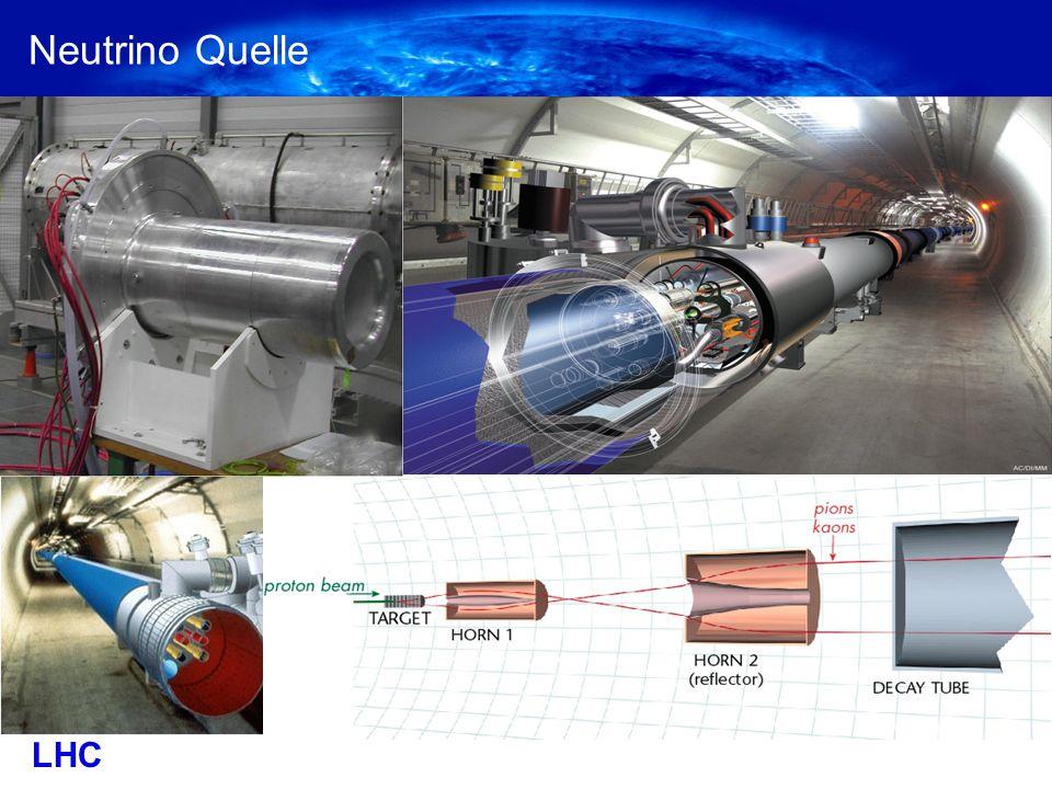 Neutrino Quelle LHC